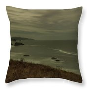 Cannon Beach 5 Throw Pillow