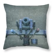Cannon Civil War Artillery Throw Pillow