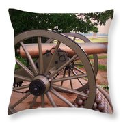 Cannon Gettysburg Throw Pillow