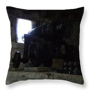 Cannon Throw Pillow