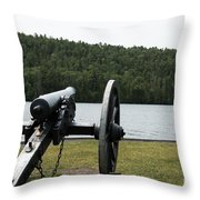 Cannon Protection Throw Pillow