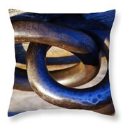 Cannon Rings Throw Pillow