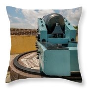 Cannon Track System Throw Pillow