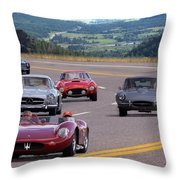 Cannonball Rally Throw Pillow