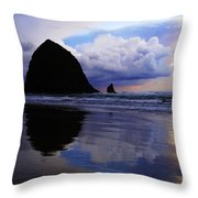 Cannon Beach Nature's Symphony Throw Pillow