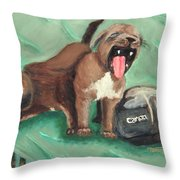 Canon Pups Throw Pillow