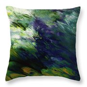 Canopy 3- Art By Linda Woods Throw Pillow