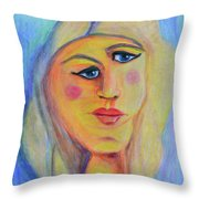 Can't See Eye To Eye Throw Pillow