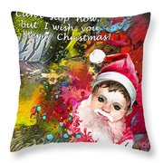 Cant Stop Now Throw Pillow