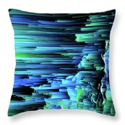 Can't Take The Sky From Me - Pixel Art Throw Pillow