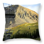 Can't Wait For Snow Throw Pillow