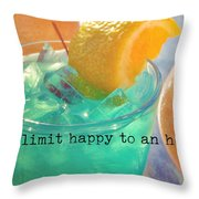 Cant You Taste It Quote Throw Pillow
