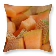 Cantaloupe II Throw Pillow