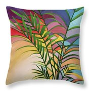 Cantata Curves Throw Pillow