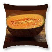 Canteloupe 2 Throw Pillow