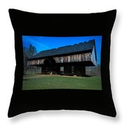 Cantilever Barn Throw Pillow