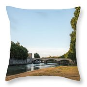 Cantina Tirolese Throw Pillow