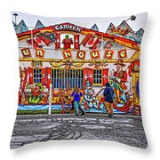 Canuck Funhouse Throw Pillow