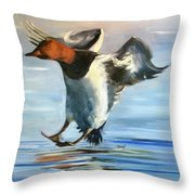 Canvas Back Smooth Landing Throw Pillow