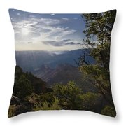 Canyon Afternoon Throw Pillow