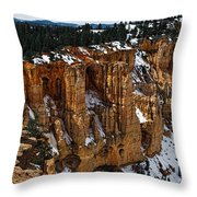 Canyon Alcoves Throw Pillow