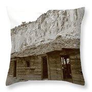Canyon Bunkhouse Throw Pillow