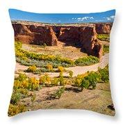 Canyon De Chelly Arizona Throw Pillow