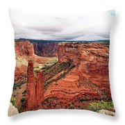 Canyon De Claire - New Mexico Throw Pillow