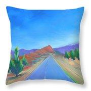 Canyon Dreams 13 Throw Pillow