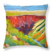 Canyon Dreams 15 Throw Pillow