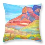 Canyon Dreams 21 Throw Pillow