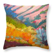 Canyon Dreams 7 Throw Pillow