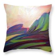 Canyon Dreams Sunset Throw Pillow