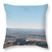 Canyon Expanse Throw Pillow