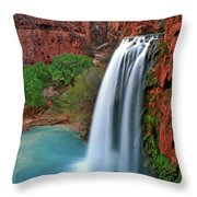 Canyon Falls Vertical Throw Pillow