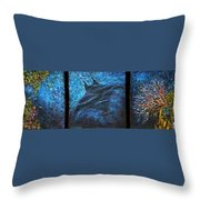 Canyon Flight Throw Pillow