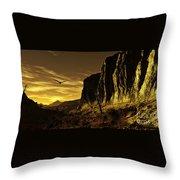 Canyon Hunt Throw Pillow
