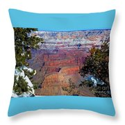 Canyon Mystique Throw Pillow