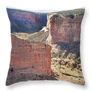Canyon Passage Throw Pillow