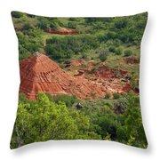 Canyon Pyramid Throw Pillow