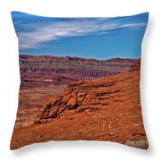 Canyon Rim Throw Pillow