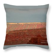Canyon Rims Throw Pillow