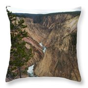 Canyon River Throw Pillow