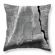 Canyon Shrine Throw Pillow