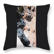 Canyon Side Throw Pillow