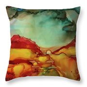Canyon Storm Throw Pillow