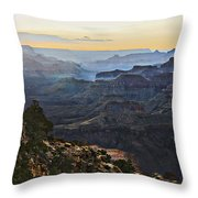 Canyon Sundown Throw Pillow