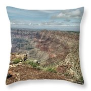 Canyon View From Navajo Point Throw Pillow