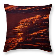 Canyonland From 36k Throw Pillow