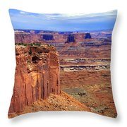 Canyonlands 4 Throw Pillow